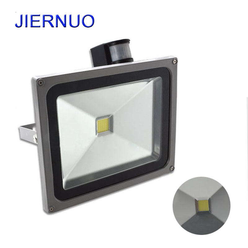 Induction LED Flood Light 10W 20W 30W 50W Floodlight IP65 Waterproof LED Spotlight Refletor LED Outdoor Lighting Gargen Lamp AE