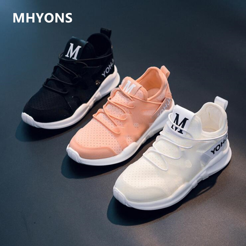 Solid color children's casual shoes 2019 spring and autumn fashion casual children's sports shoes boys and girls mesh breathable