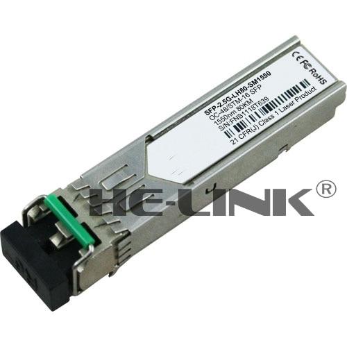 SFP-2.5G-LH80-SM1550-H3C Uyumlu 2.5 Gbps SFP TransceiverSFP-2.5G-LH80-SM1550-H3C Uyumlu 2.5 Gbps SFP Transceiver