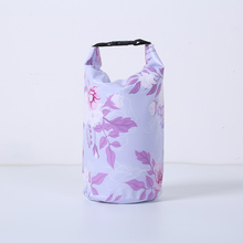 Outdoor Portable Waterproof Walking PVC Material 4L Travel Packaging Storage Camping Bag Products