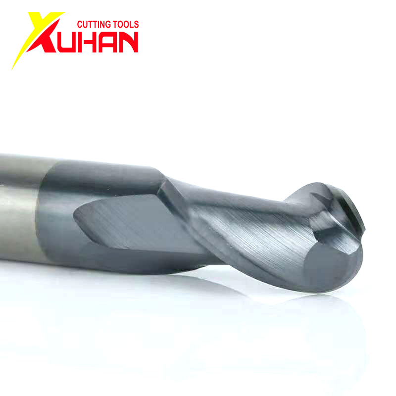 HRC50  Ball Nose End Mill Tungsten Solid Carbide Coated Cnc Milling Cutter