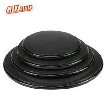 Черная Автомобильная потолочная Колонка GHXAMP, сетчатый корпус для гриля, 4 дюйма, 5 дюймов, 6,5 дюйма, защитный чехол для сабвуфера, колонка DIY ABS