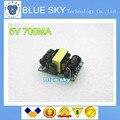5PCS  5V 700mA 3.5W AC-DC Precision Buck Converter AC 220v to 5v DC step down Transformer power supply module for Arduino