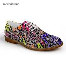 64ab8759c5 Twoheartsgirl Hipster planos de los hombres zapatos de cuero de ocio de  Oxford zapatos cómodos zapatos