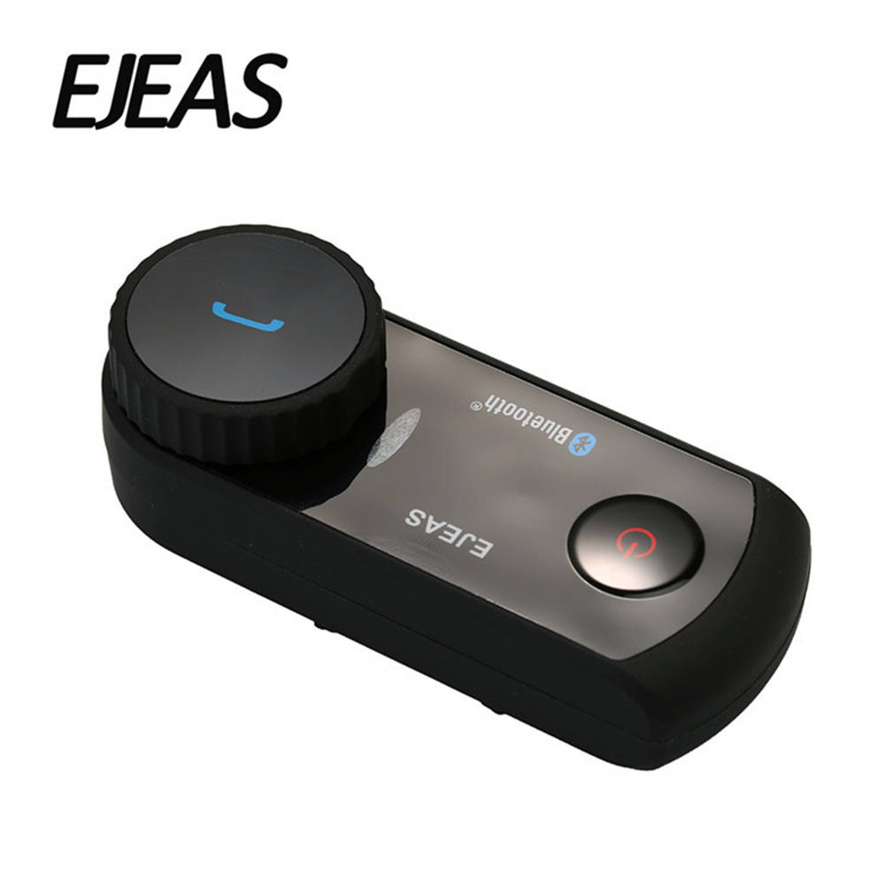 EJEAS Motorcycle Intercom Helmet Headset Bluetooth Helmet Comunicador Moto Interphone Headset Wireless Headset For 4 Riders