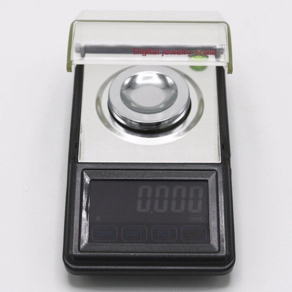 0.001g ~ 50g écran tactile haute définition bijoux échelle qualité poche électronique numérique balance + boîte de détail - 3