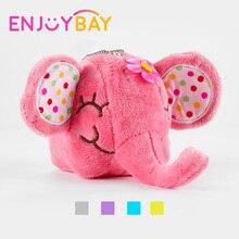Enjoybay Cute Elephant Doll Pendant Animal Plush Stuffed Toy 12cm Sucker for Car Kids Room Window Home Decoration Dolls