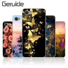 купить Geruide For LG Q6 Q6A Case Cartoon Soft TPU Silicon Phone Cases For LG Q6 Alpha Case M700 for LG Q6 Plus X600 X600K X600L Cover дешево