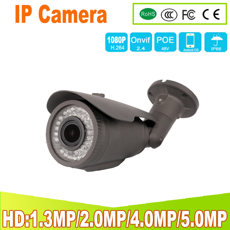 2 8mm Wide IP Camera 5 0MP 4 0MP 1080P 960P 720P Email Alert ONVIF P2P