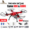 2016 Newest Drone Syma X8G & X8HG 2.4G 4ch 6 Axis with 8MP Wide Angle Hd Camera RC Quadcopter RTF Altitude Hold RC Helicopter