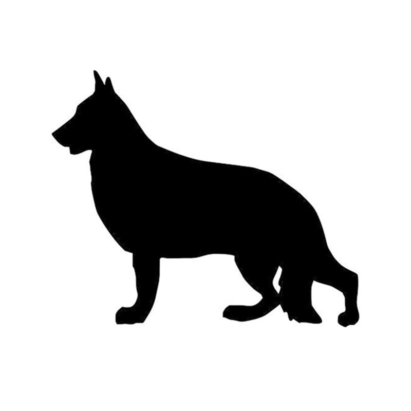 Pastore tedesco cane decalcomania animale domestico vinile adesivo per auto SUV camion barca finestra paraurti casa parete
