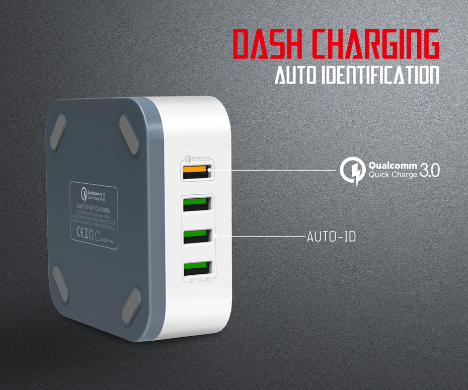 LDNIO A8101 Travel Charger (5)