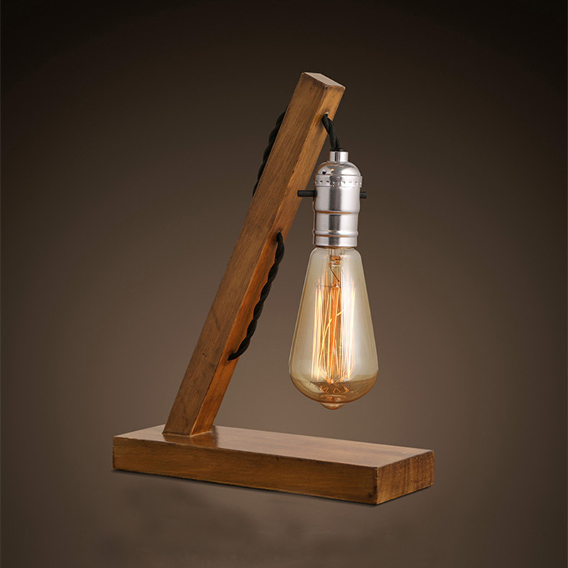 Wood Table Lamps 12