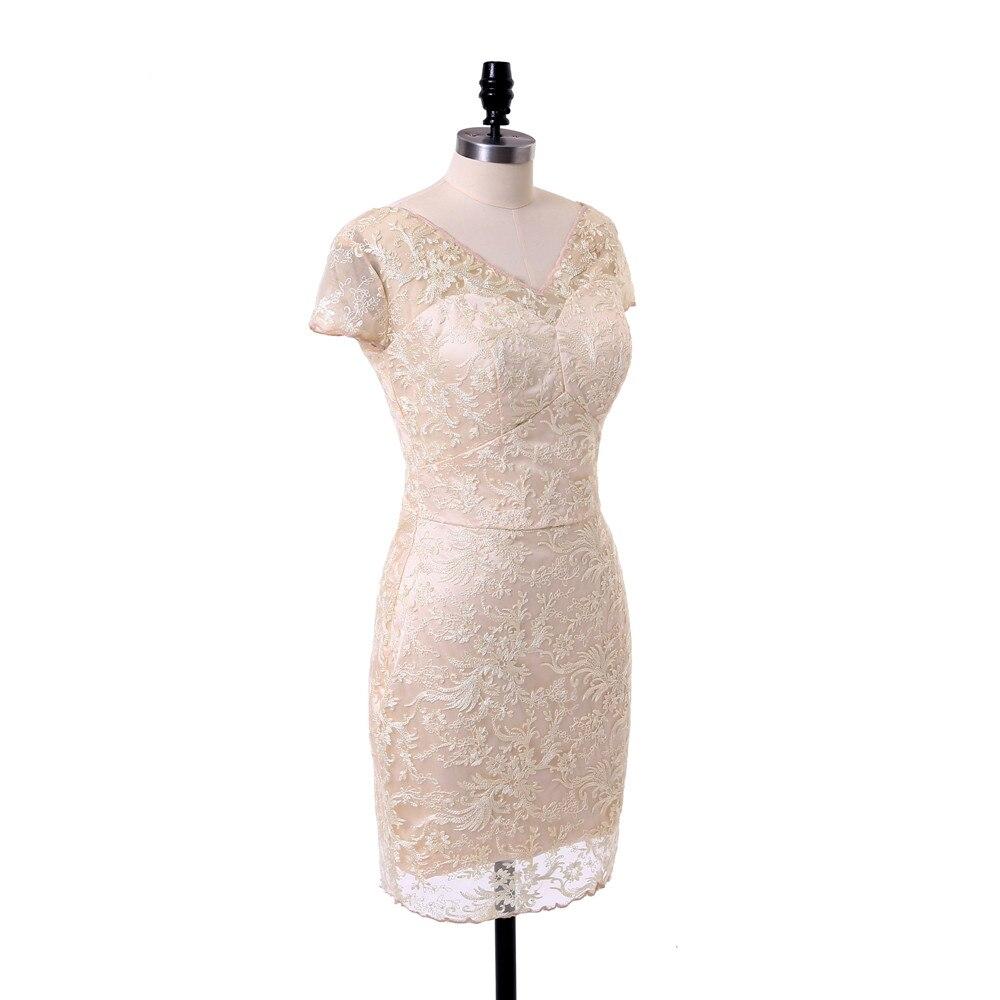 Size Vestidos Mãe Do Noivo Formal Curto Para casamento