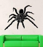 الحيوانات العنكبوت الحشرات تصميم العظمى غرفة الجدار ملصق الفينيل صائق