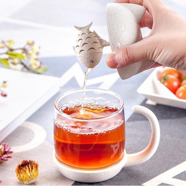 brixini.com - Little Cat & Fish Tea Cup