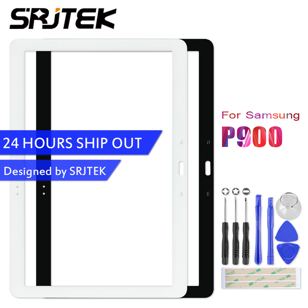 Srjtek For Samsung Galaxy Note Pro P900 Touch Screen Digitizer Sensor Front Glass Panel Replacement Part 12.2 P900 P901 P905 official original metal keyboard station wireless blutooth stand case cover for samsung galaxy note pro 12 2 p900 p901 p905 t900