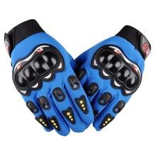 Высокого качества перчатки из натуральной кожи полный палец Moto мужчин Moto rcycle Прихватки для мангала Moto rcycle Защитное снаряжение Moto крест перчатки M-размер XXL