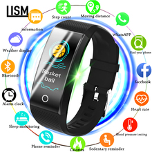 Fitness Smart Watch Men Women Pedometer Heart Rate Monitor Waterproof  Swimming Running Sport Watch For Android IOS PK xiao mi bangwei fitness smart watch men women pedometer heart rate monitor waterproof ip68 swimming running sport watch for android ios