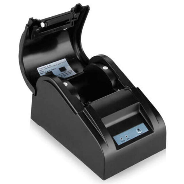 Дель ZJ-5890T 58 мм Термопринтер 58 мм Тепловая Чековый Принтер 58 мм POS Принтер USB АС Plug 19 Июля