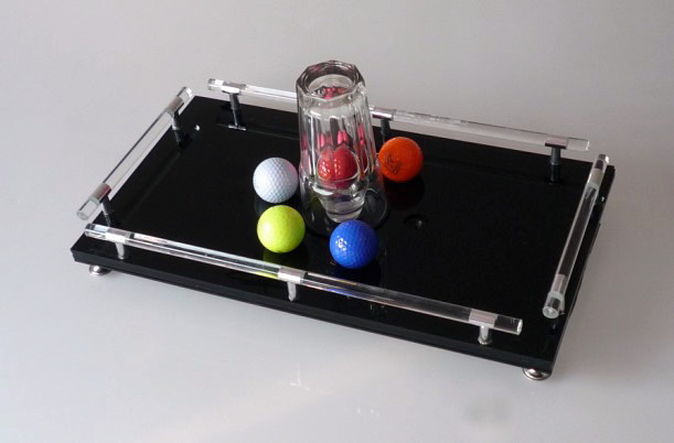 Hole In One Magic Tricks Selected Ball Into Glass Tour De Magie Magician Stage Illusion Gimmick Props Funny Mentalism