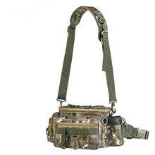 Fishing Bags Waterproof Fishing Bag Large Capacity Multifunctional Lure Fishing Tackle Pack Outdoor Shoulder Bags цены