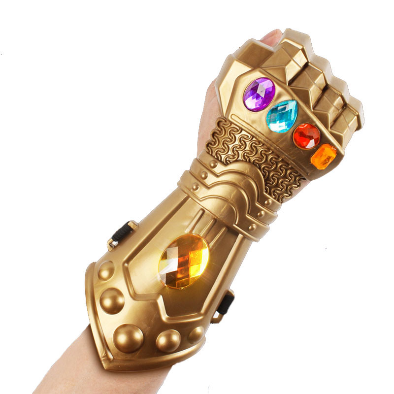 Avengers 3 Infinity War Gemstone Gloves Hard Green Plastic Stage Performance Props