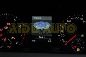 Image 4 - Full color Instrument Cluster Dashboard 280 km/h red Needle Sweep 35D 920 880 D FOR Passat B7 CC