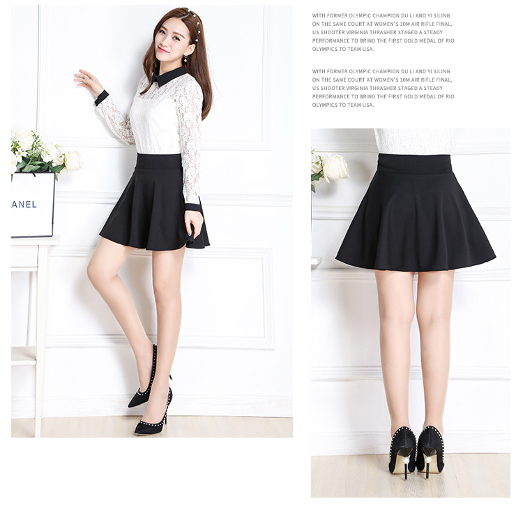 839b10b5dc2c2 Pregnant Women Short Skirt Solid High Waist Skirt Fashion Maternity Clothes  Maternity Skirt Women Falda-in Skirts from Mother & Kids on Aliexpress.com  ...