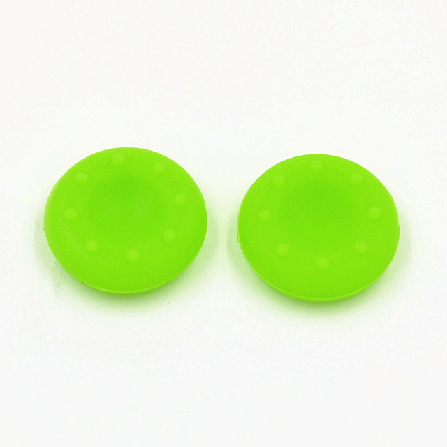 2pcs Rubber Silicone Cap Thumbstick Thumb Stick X Cover Case Skin Joystick Grip Grips For PS2/3/4 XBOX 36E Controller JLRL88 2