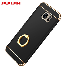 For sansung galaxy s6 edge plus case JCDA brand cover back luxury thin hard 3 in 1 protective coque fitted g9200 Anti-knock case