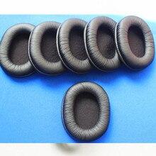 Linhuipad 1000pcs Leather ear cushion sponge pads foam covers for sony MDR-7506,HD202 MDR V6 headphones