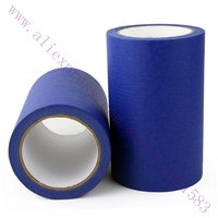 205MM Width Blue Masking Tape High Temperature Resistance Masking Tape for 3D Printer/ MakerBot, Thickness 0.13mm