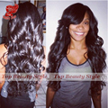 Wholesale Cheap Wigs Long Body Wave Synthetic Wig With Bangs Heat Resistant Fiber Hair Wigs For Black Women Large In Stock