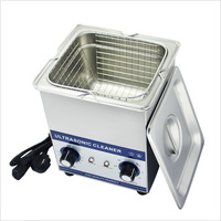 01 JP 010 PCB Ultrasonic Cleaner 1 6L 60W Eyeglass Bath Cleaner Ultra Sonic Jewelry Parts