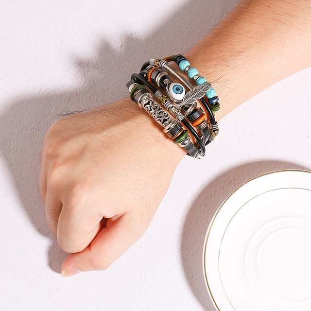 Bohemia Multi-layer Leather Bracelet