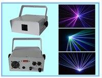 Раша Новое 1 Вт rgb полный Цвет этап анимации лазерного света диско DJ Лазерная жира луч света лазерная дождь Шторы sd карты 1 Вт RGB 3D 2D