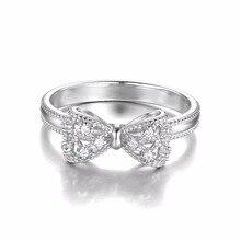 Zirconia Anniversary Wedding Ring For Women