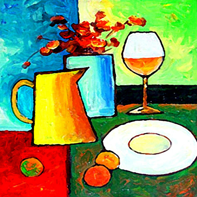 2 Panel Modern Paintings Kitchen Art Cuadros Decoracion Flowers Cups Wall Pictures For Living Room No Frame In Painting Calligraphy From Home