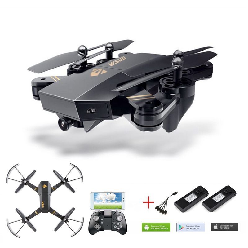 Xs809hw Selfie Drone With Camera 720p Fpv Quadcopter Rc Drone Xs809w Helicopter Remote Control Toy For Kids Dron VS 8807W YH19HW