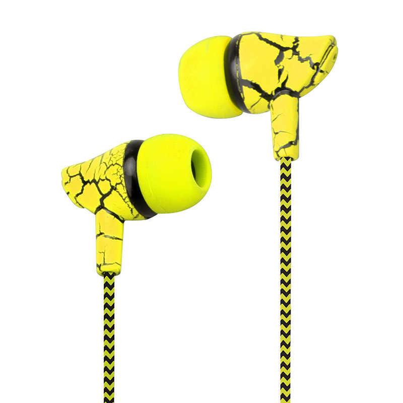 A13 профессиональные ткани в ухо проводных наушников 3,5 мм тяжелый бас качество звучания музыки Спорт гарнитура для iPhone Xiaomi