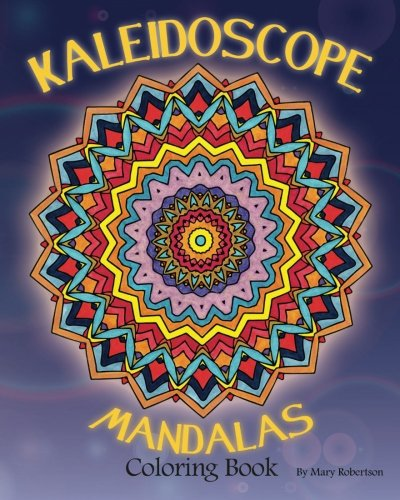 Kaleidoscope Mandalas Coloring Book Volume 1 English Adult Books