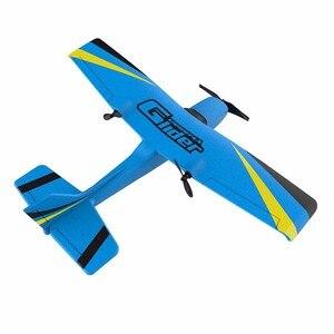 Image 4 - Z50 RC avión EPP espuma Glider giroscopio de avión 2,4G 2CH RTF Control remoto Wingspan aviones divertidos niños aviones juguetes interesantes