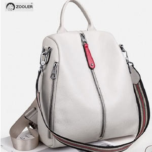 Image 2 - ZOOLER 2020 NEW Black Travel Bag Real Leather Backpack Women Genuine Leather Backpacks Fashion Luxury Backpack Bags Girls#HS209