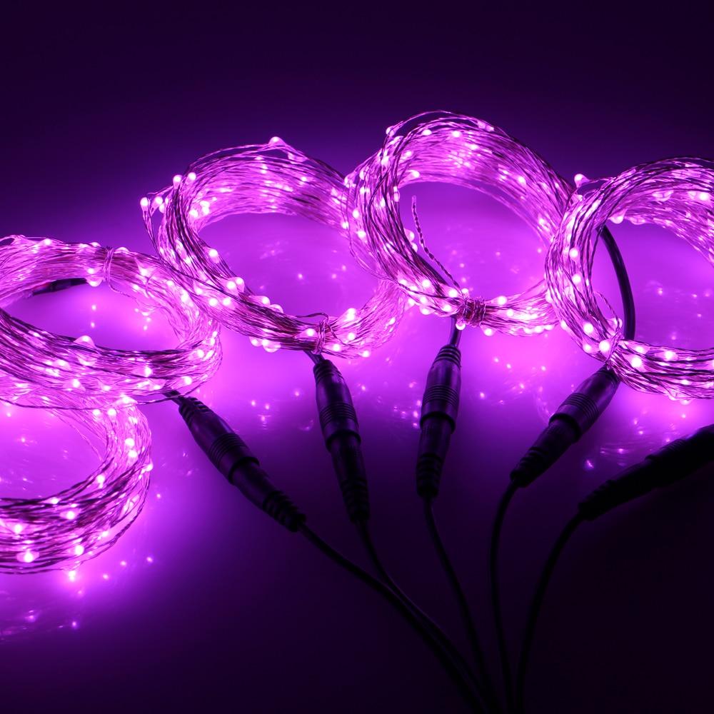 5 * 10M / 33FF 100 LED Sambungan Lampu Krismas Luar Dihiasi Luar - Pencahayaan perayaan - Foto 2