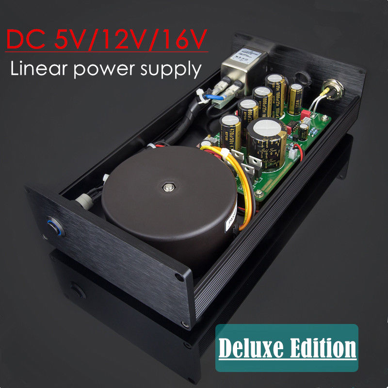 2018 New Nobsound Hi-end HiFi 80W DC 5V/12V/16V Linear Power Supply For Amplifier Digital Interface DAC nobsound lps 25 usb hi end 25w dc5v 3 5a usb low noise linear power supply for audio dac digital interface
