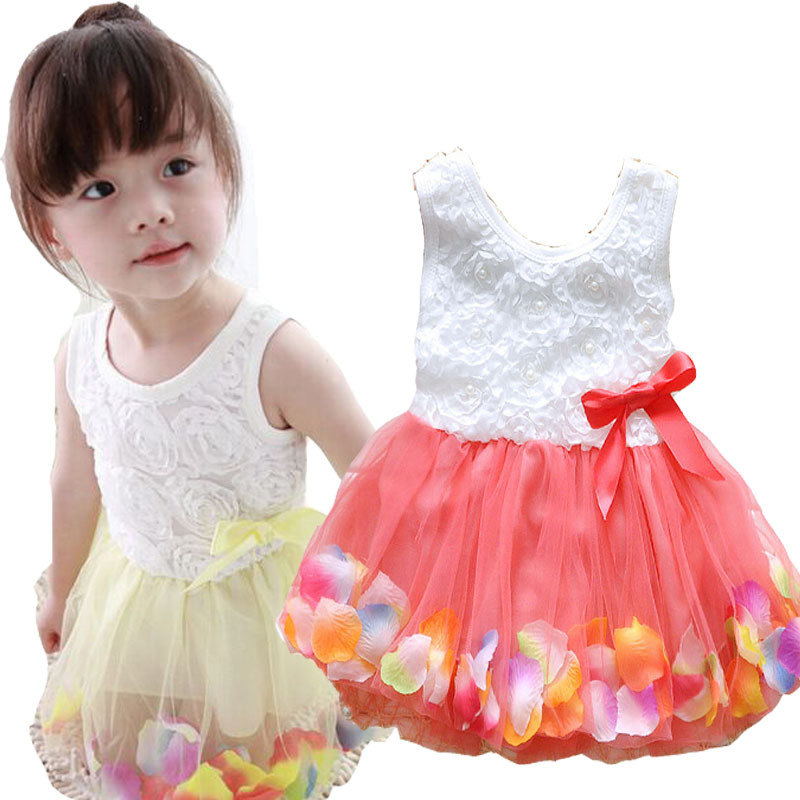 Clearance Colors Kids Clothes Baby Girls Dress Princess