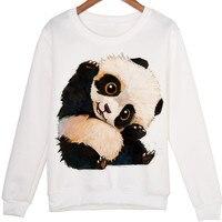 Harajuku 3D Stampa Cute Baby Panda Felpe Cappotto Uomini Donne Animali panda Del Fumetto Hoodies di Modo Tuta streetwear Tops