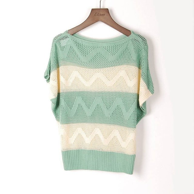 On Sale!!hot New Fashion Korea/japan Women Hollow Cardigan Sweater ...