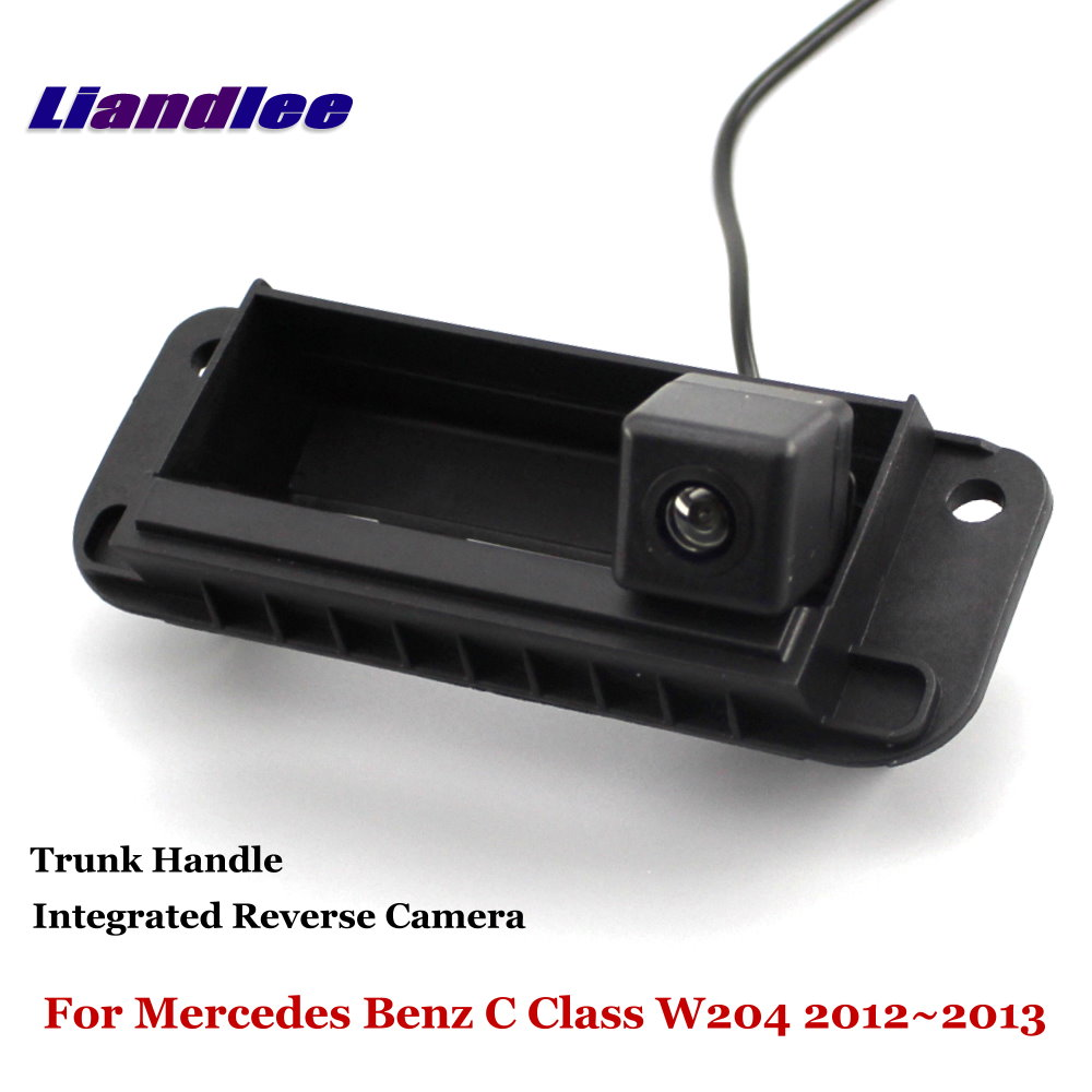 Liandlee For Mercedes Benz C Class W204 2012 2013 Car Reverse Camera Rear View Backup Parking